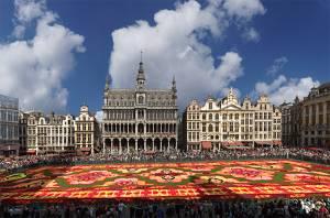 ベルギー旅行・ツアーのトリビア フラワーカーペット(7)