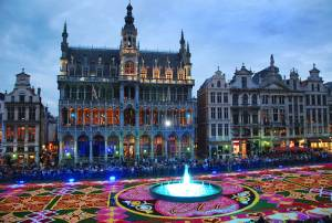 ベルギー旅行・ツアーのトリビア フラワーカーペット(6)