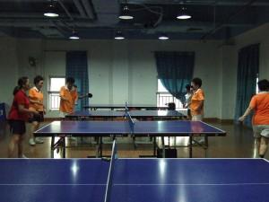 40歳以上の中国卓球留学スタートしました!