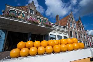 オランダ三大チーズ市 ③エダム