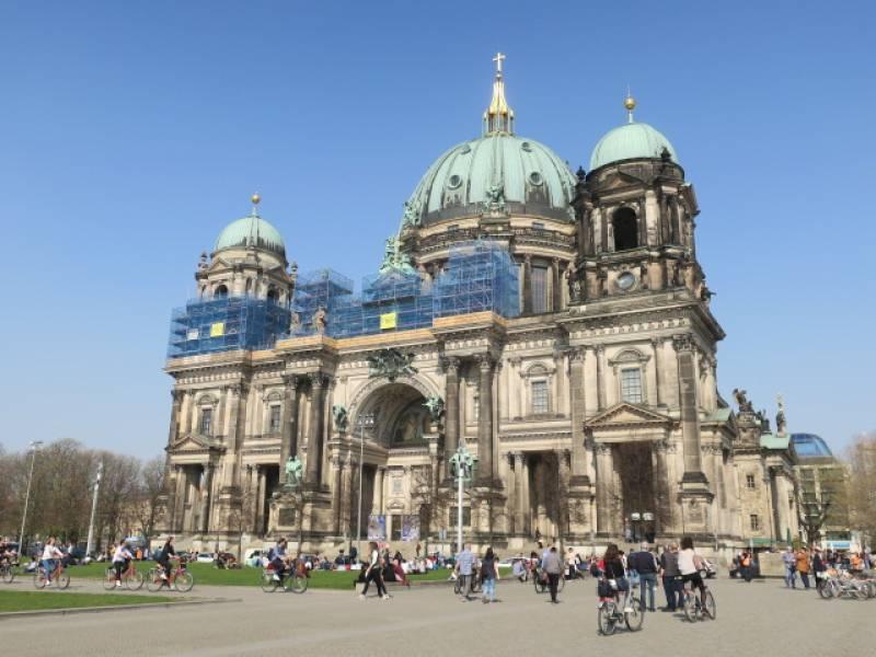 春のドイツ観光 フランクフルトとベルリン