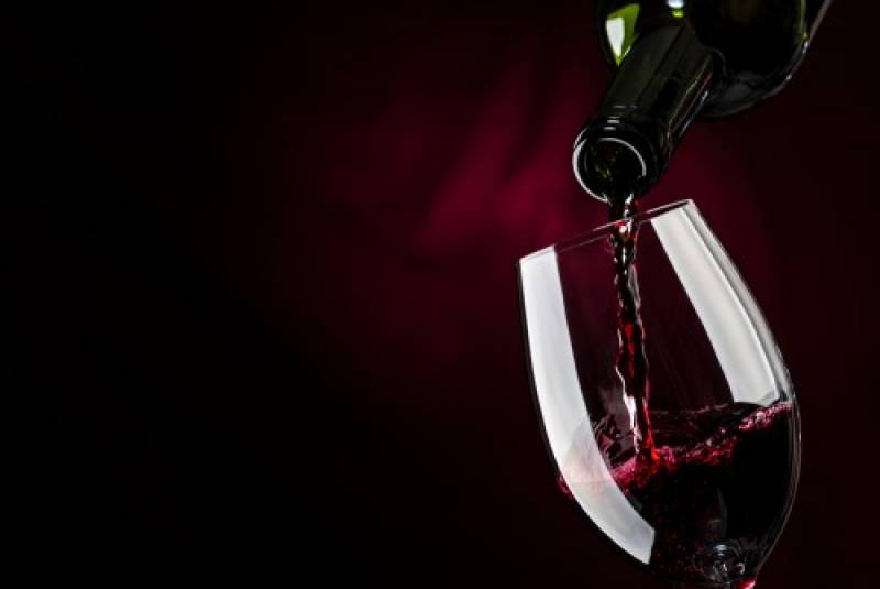 カオールの黒ワイン