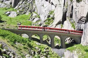 新旧ゴッタルド線の旅