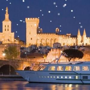 南仏で過ごすクリスマス!豪華客船でのローヌ川クルーズ