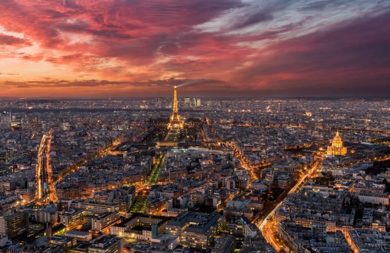 パリの美しい夜景スポット