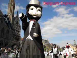ベルギー☆3年に一度!イーペルの猫祭りの起源