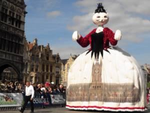 ベルギー☆イーペルの猫祭り☆女王