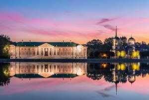 18世紀の美しい庭園と宮殿クスコヴォ