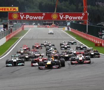 F1ベルギーグランプリ観戦 2017