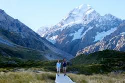 ニュージーランド南島ハイキング