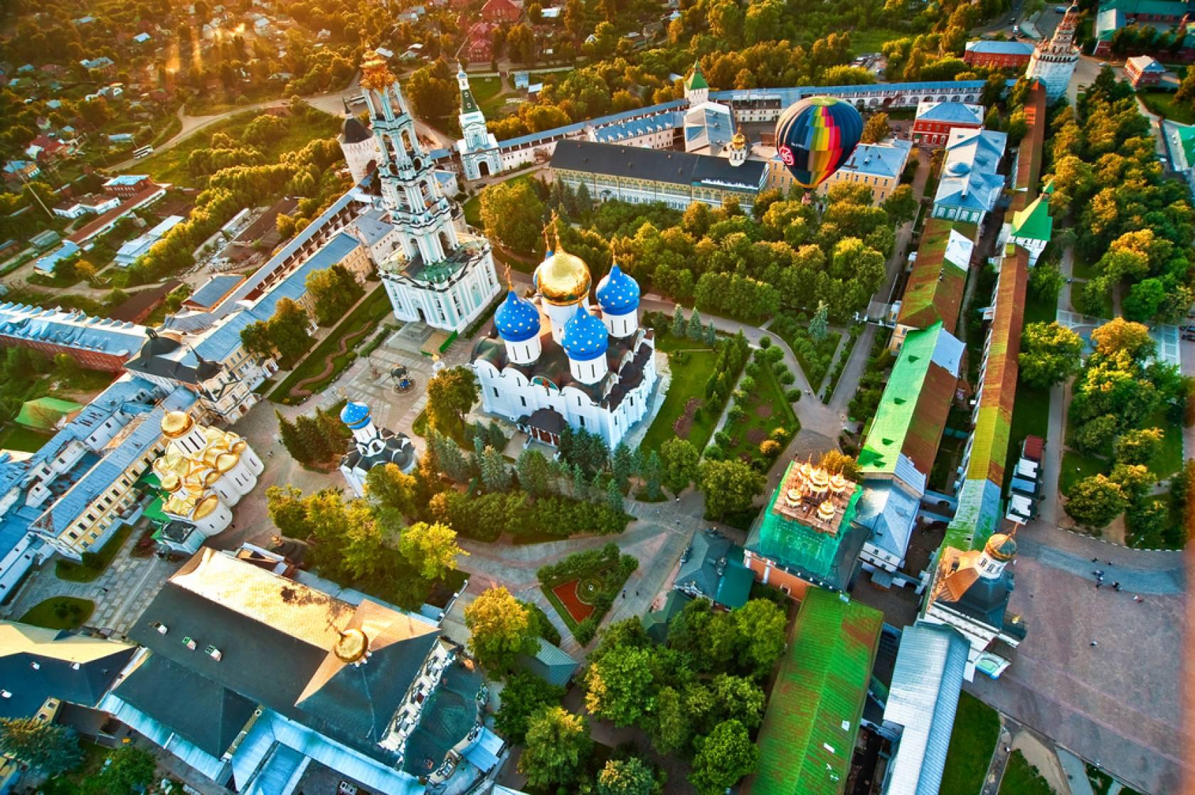 モスクワと黄金の環 完全フリー8日間