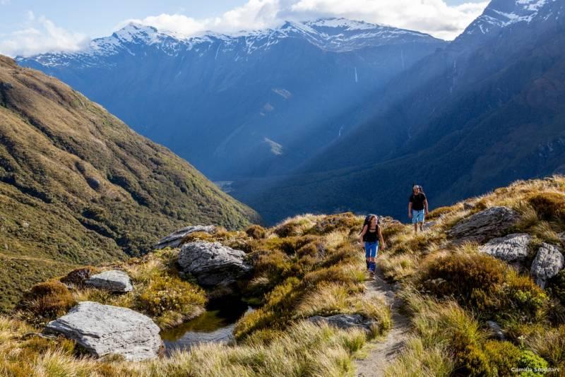 ニュージーランド旅行【最新情報】ニュージーランドテレビ番組情報「トレッキング天国のニュージーランド」