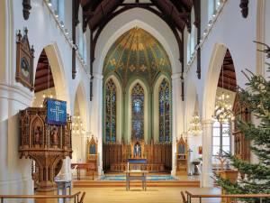 クリスマスを感じるヨーテボリの教会【スウェーデン情報】