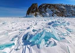 シベリア鉄道で行くバイカル湖 アイスハンティングツアー8日間