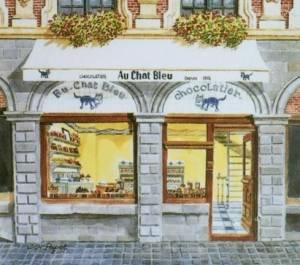 ネコ好きにはたまらないフランス・リールのチョコレート屋さん  ≪ Au Chat Bleu ≫