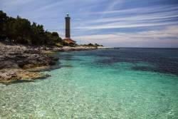 クロアチアの灯台に滞在