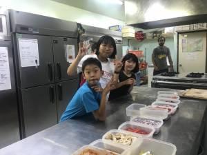 English Camp 4日目(8月1日) pizazzパーティー