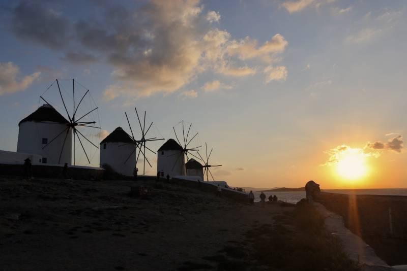 春のギリシャ旅行~ミコノス島&サントリーニ島滞在~6日間