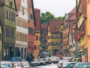 ドイツロマンチック街道を巡る