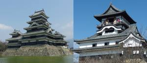 The beautiful castles of Japan - Part 1: The Matsumoto castle and the Inuyama castle